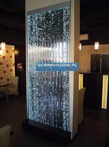 Ścianka Bąbelkowa naścienna 250cm x 100 x 3 cm z lustrem