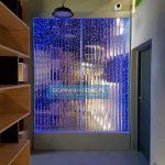 Ściana wodna księgarnia Miejska lublin